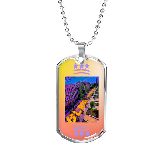 BLM Plaza Dog Tag Chain (1)