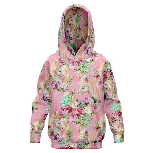 Watercolor Unicorn Kids Hoodie *** CLEARANCE***
