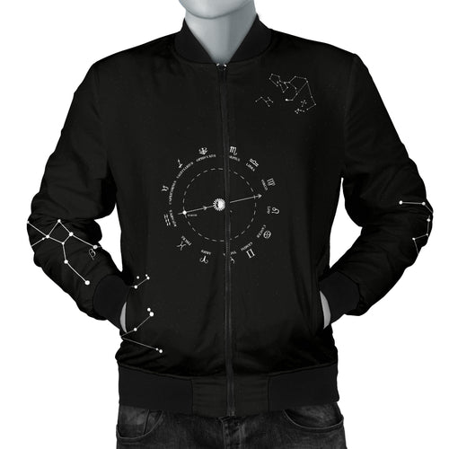 Stars and Constellations Men's Bomber Jacket
