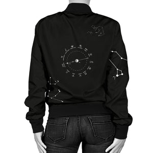 Stars and Constellations Women's Bomber Jacket