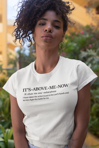 It's Above Me Now - Women's White