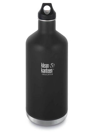 The Klean Kanteen Insulated Black Waterbottle 1900ml
