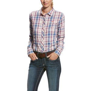 Women's Ariat Savant Plaid Long Sleeve Shirt
