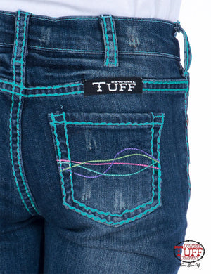 Cowgirl Tuff's - Girls Rodeo Jeans
