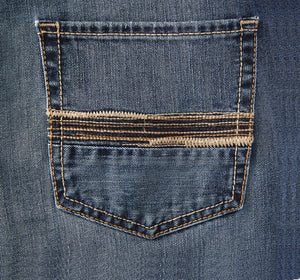 Men's Ariat M5 Tokyo Coyote Straight Leg Jeans