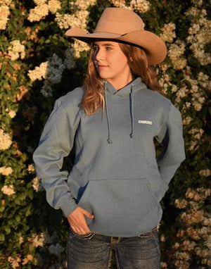Unisex Khan Rodeo Boston Blue Hoodie