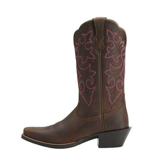 Ariat Round Up Square toe Women's Western Boots - Diamond K Country