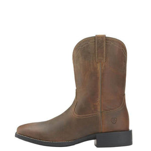 Men's Ariat Heritage Roper Wide Square Toe Western Boots - Diamond K Country