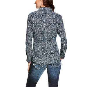 Women's Ariat Paisley Print Shirt