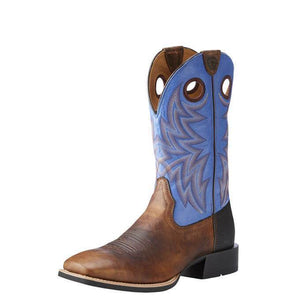 Ariat Heritage Cowhorse Men's Western Boot Bar Top Bison - Diamond K Country