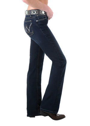 Women's P/Patch Booty Up - ABOVE HIP JEAN 36 Leg 10MWZBR36