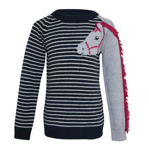 Girl's Thomas Cook Horse Knit Jumper - Diamond K Country