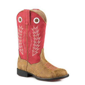 Kid's Roper Hole in the Wall Boots
