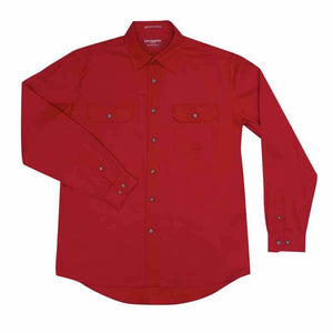 Just Country Evan Full Button Shirt Men's Chilli - Diamond K Country