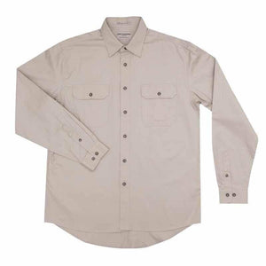 Just Country Evan Full Button Shirt Men's Stone - Diamond K Country