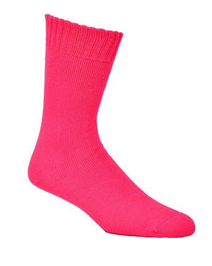 Bamboo Socks Extra Thick Hot Pink