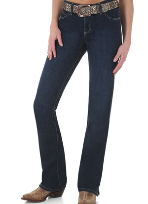 Women's Wrangler Cash Riding Jean- Darkwash Indigo