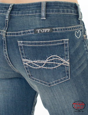 Women's Cowgirl Tuff Inspire Jeans- Natural Waist
