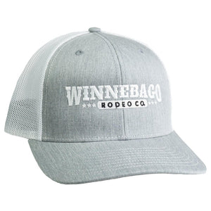 Dale Brisby Wear - Winnebago Silver and White Mesh Cap