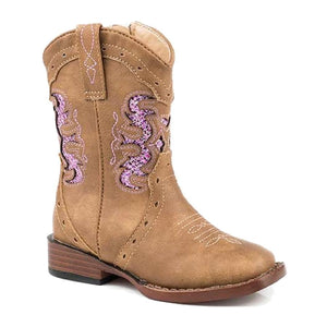 Toddler's Roper Lexi Tan Boots