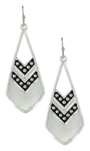 Women's Montana Silversmiths Chevron Earrings