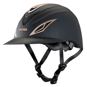 Rose Gold Troxel Avalon Riding Helmet