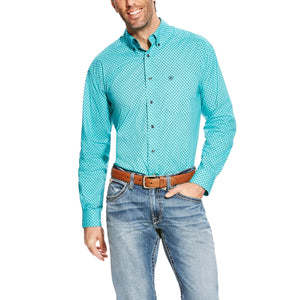 Men's Ariat Atherton Print Shirt - Diamond K Country