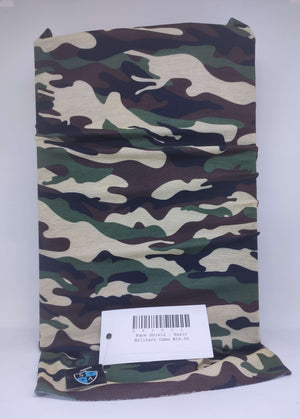 Face Shield - Basic Military Camo