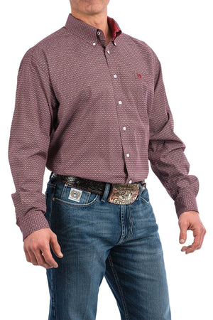 Men's Cinch Lucas L/S Shirt MTW1104801