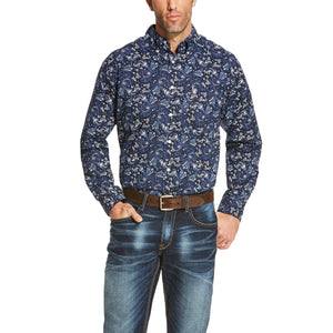 Men's Ariat Olex Print Shirt - Diamond K Country