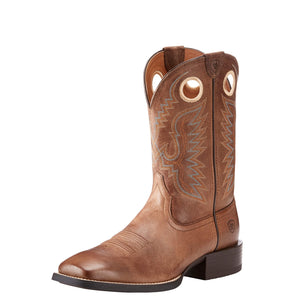 Men's Ariat Sport Ranger Roasted Brown Boots - Diamond K Country