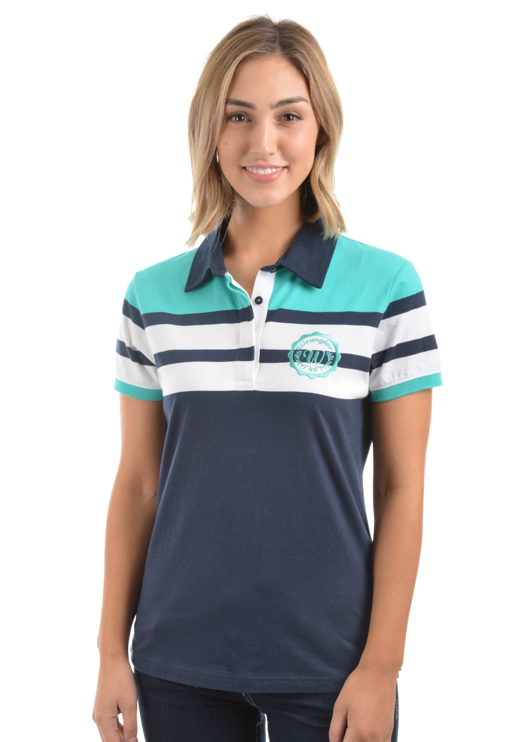 Womens Polo Shirts Diamond K Country