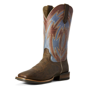 Ariat Men's Crossdraw Ox Blood and Blue Fireball