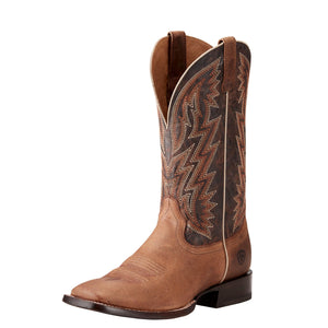 Men's Ariat Ranchero Rebound Khaki and Dark Desert Boots - Diamond K Country