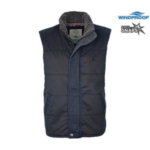 Men's Thomas Cook Stanthorpe Faux Oilskin Vest