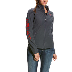 Women's Ariat Grey Softshell Jacket