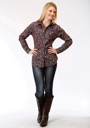 Women's Roper Amarillo Spiced Rum Shirt