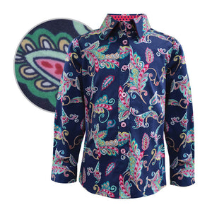 Girl's Thomas Cook Audrey Print Shirt