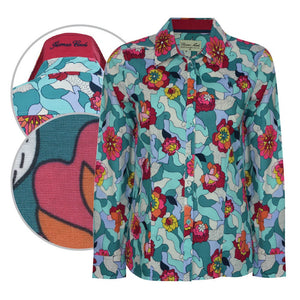 Women's Thomas Cook Freida Print Shirt