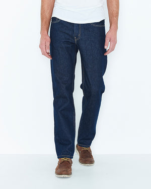 Men's Levis Rinse Jeans- 516 Straight