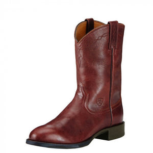 Men's Ariat Heritage Roper Boots CHOCOLATE