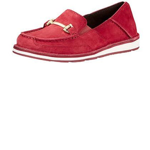 Women's Ariat Bit Cruiser Shoes Red