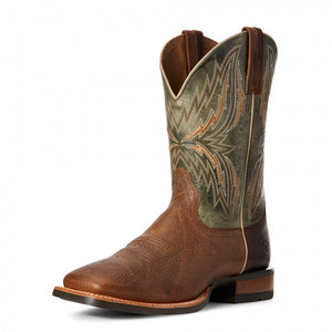 Ariat Men's Arena Rebound Toffee Crunch/Turquoise Boot