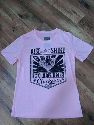 Rise & Shine Mother Cluckers Graphic Tee