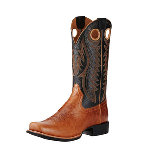 Men's Ariat Cutter Classic VX Gingersnap and Black Deertan Boots - Diamond K Country