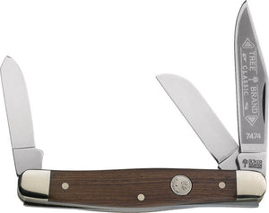 The Boker Stockman Rosewood Pocket Knife