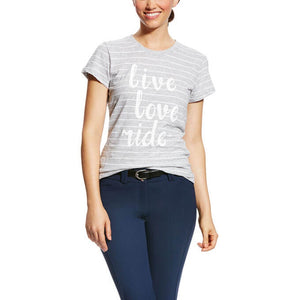 The Women's Ariat Live Love Ride T-Shirt