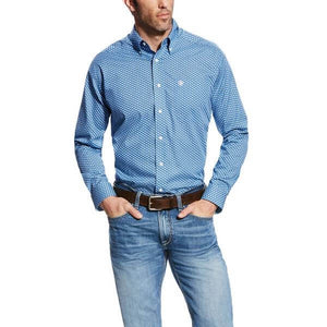 Men's Ariat Wrinkle-Free Kirk Shirt
