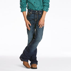 Boy's Ariat  B4 Rocco Racer Jeans