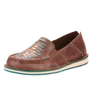 Women's Ariat Cruiser Weave Brown Rebel